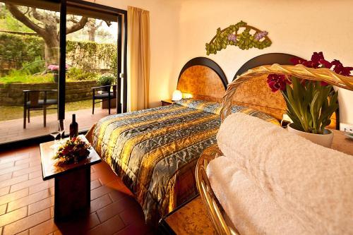 Letto o letti in una camera di Hotel Zì Martino