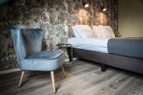 Ein Sitzbereich in der Unterkunft Hotel het Anker van Texel