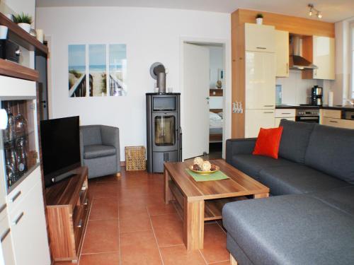 Posezení v ubytování Ferienwohnung Windrose 7