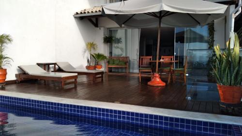 The swimming pool at or close to Apartamento Centro Histórico