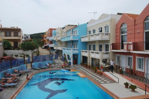 A view of the pool at Epis Hotel or nearby