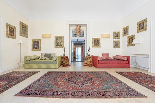Area soggiorno di Casa Bormioli - Maison de Charme