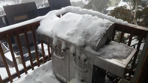 Aneeki Ski Lodge during the winter