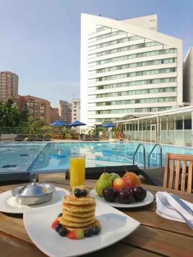 The swimming pool at or near Hotel San Fernando Plaza