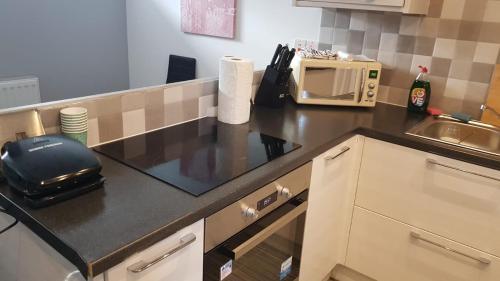 A kitchen or kitchenette at Townhouse @ Bath Street Stoke