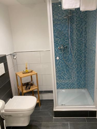 A bathroom at Wohnung im Herzen von Bad Salzuflen am Kurpark