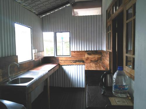 A bathroom at AGP home