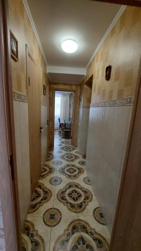 A bathroom at Апартаменты На Зоологической, 11Б