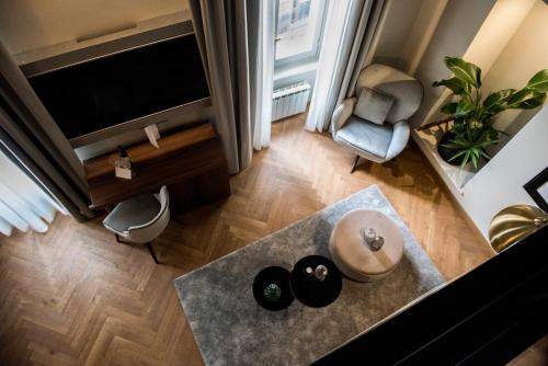 TV o dispositivi per l'intrattenimento presso Hotel Sole Al Pantheon