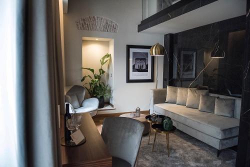 Zona de estar de Hotel Sole Al Pantheon