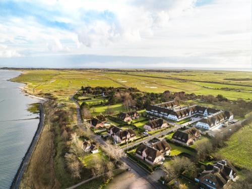 Blick auf Severin's Resort & Spa aus der Vogelperspektive