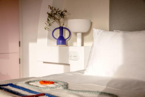A bed or beds in a room at Menorca Experimental