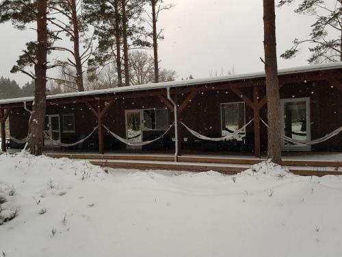 Cerību Liedags during the winter