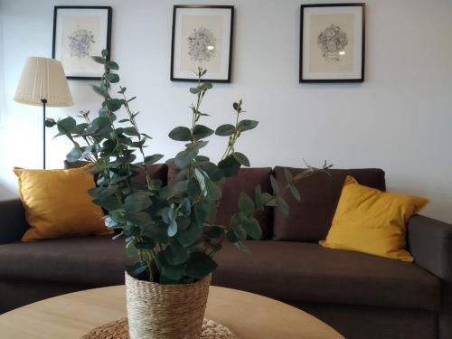 Zona de estar de Apartment Terrace Benalmádena