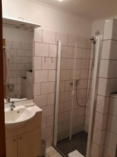 Ein Badezimmer in der Unterkunft Kurpark-Residenz Deidesheim
