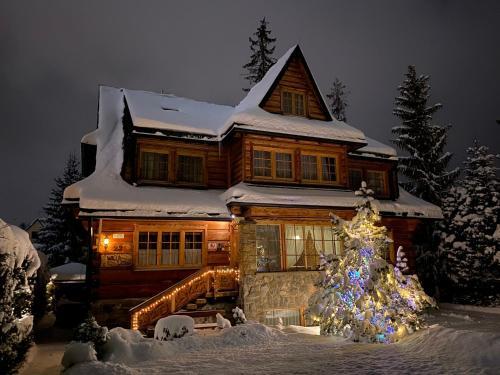 Obiekt Willa Leśna zimą
