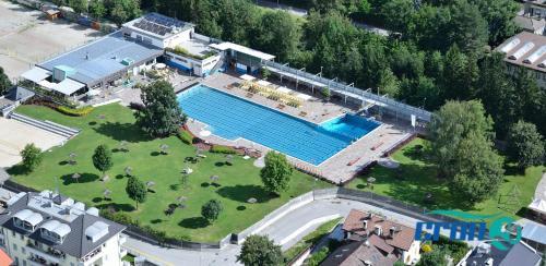 Vista aerea di Hotel Martha