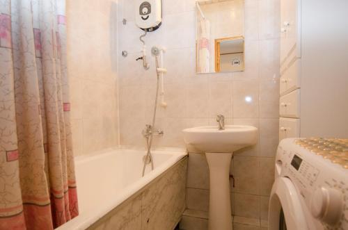 Ванная комната в Apartment on Novyy Arbat 16