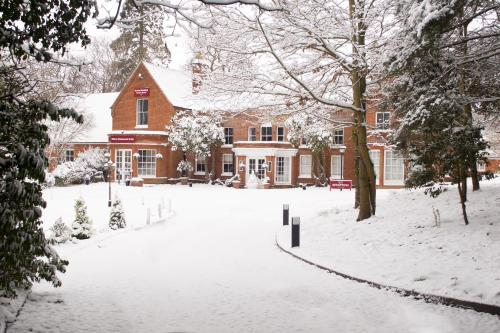 Muthu Belstead Brook Hotel during the winter