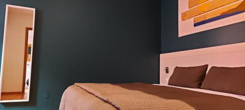 Letto o letti in una camera di Casa Lady