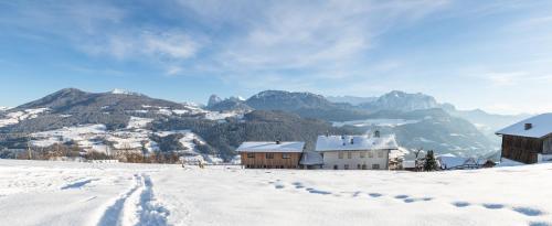 Schweiggerhof durante l'inverno
