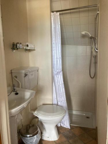 A bathroom at Bulmer Farm B&B