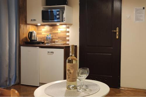 Küche/Küchenzeile in der Unterkunft Hostel Helvetia