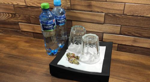 Getränke in der Unterkunft Hostel Helvetia