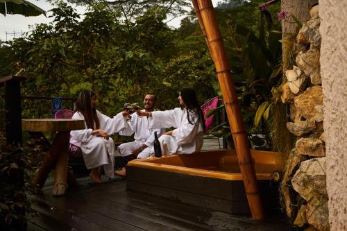 Guests staying at La Palma y El Tucan Hotel