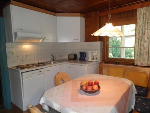 Küche/Küchenzeile in der Unterkunft Alpenhaus Waldberg