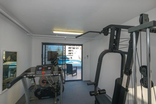 The fitness center and/or fitness facilities at Victoria Square Apartments