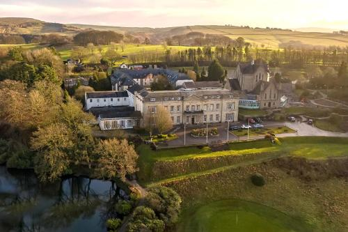 A bird's-eye view of Shrigley Hall Hotel