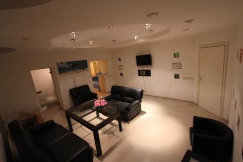 Гостиная зона в Апартаменты на Адмиралтейской