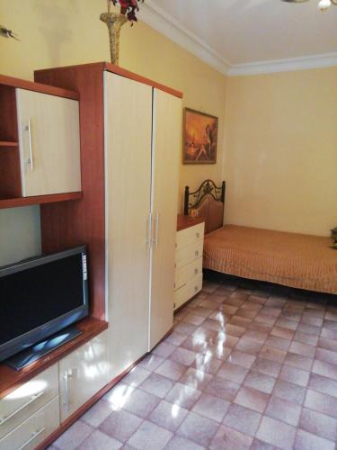 Телевизор и/или развлекательный центр в Apartamienty Gorkogho 38