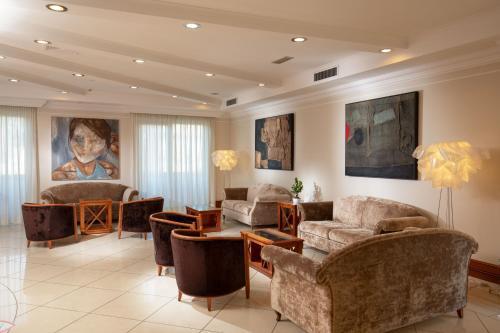 Hall o reception di Best Western Hotel Viterbo
