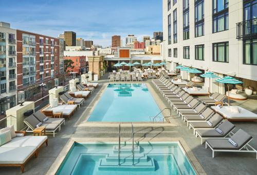 A view of the pool at Pendry San Diego or nearby