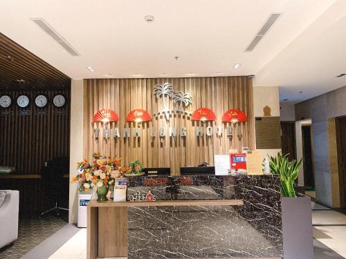 Khu vực sảnh/lễ tân tại Thanh Long Hotel - Tra Khuc