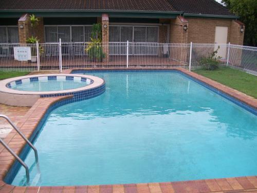 The swimming pool at or near Sun Plaza Motel - Mackay