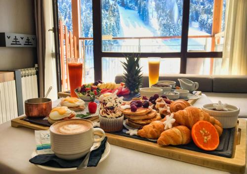 Breakfast options available to guests at Rila Hotel Borovets