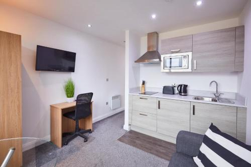 Central Apartment in Heart of Manchester City Centre, Close to Universities