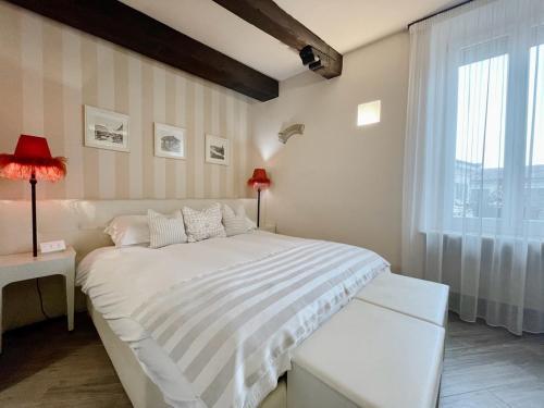 Letto o letti in una camera di B&B Verona Centro