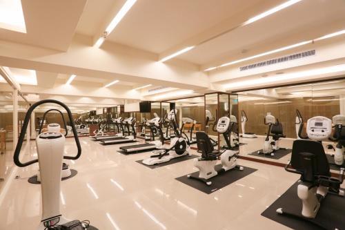 山多利大飯店健身房和/或健身器材