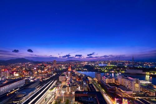 A bird's-eye view of Rihga Royal Hotel Kokura Fukuoka