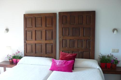 Cama o camas de una habitación en Casa La Rinconada