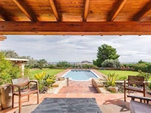 The swimming pool at or near Spacious Villa in Ibiza Town with Swimming Pool