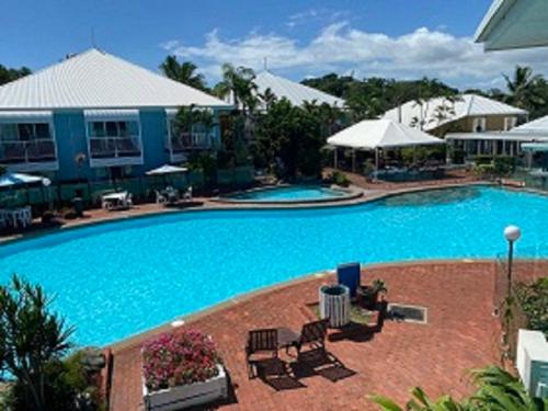 A view of the pool at Dolphin Heads Resort or nearby