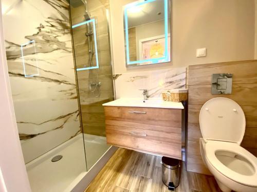 Łazienka w obiekcie Sopot Spa Apartment