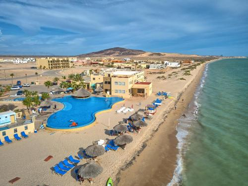 A bird's-eye view of Laguna Shores Resort