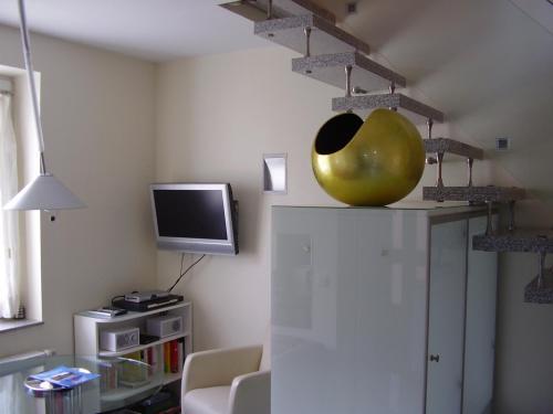 TV/Unterhaltungsangebot in der Unterkunft Apartments am Elberadweg