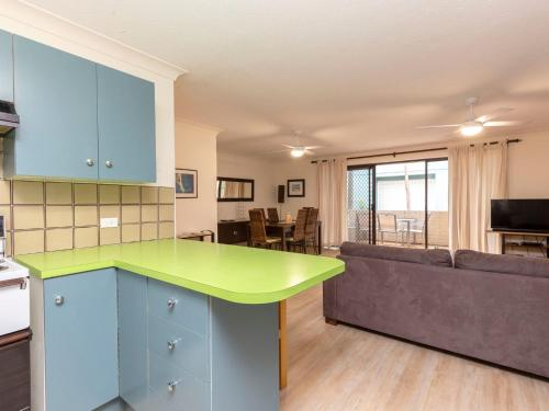 A kitchen or kitchenette at Apartment with Inground Pool